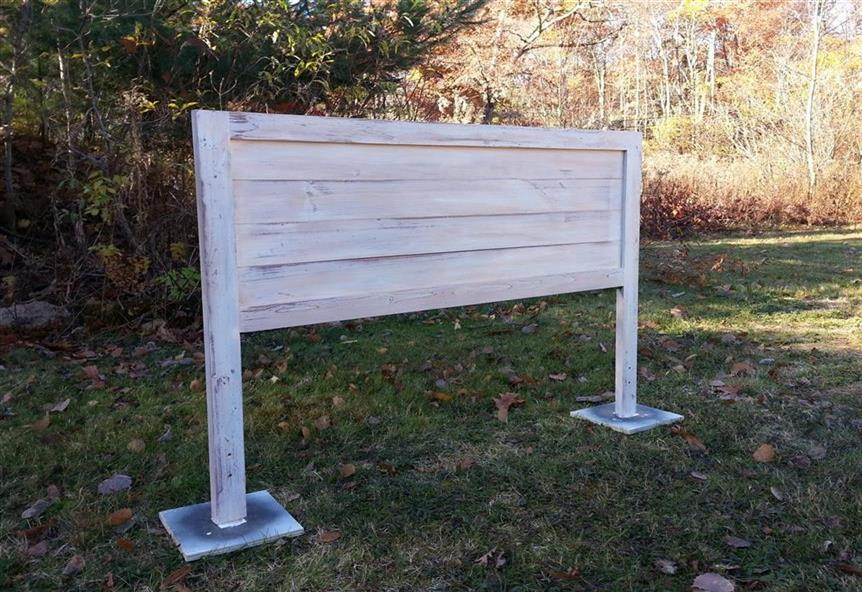 Country Shiplap Headboard 399